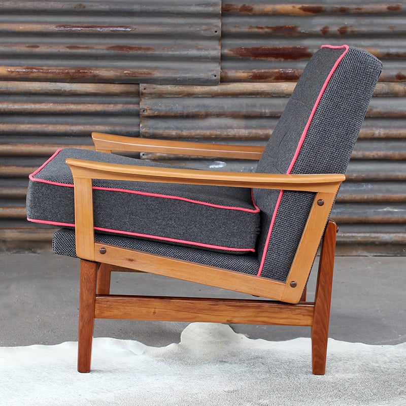 Image of Black Blossom Fler Chair