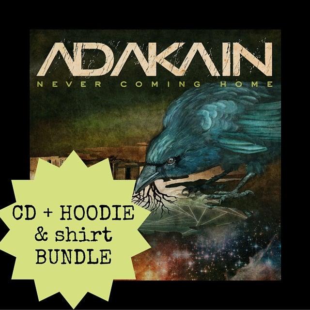 Image of CD + T-Shirt + Hoodie Bundle