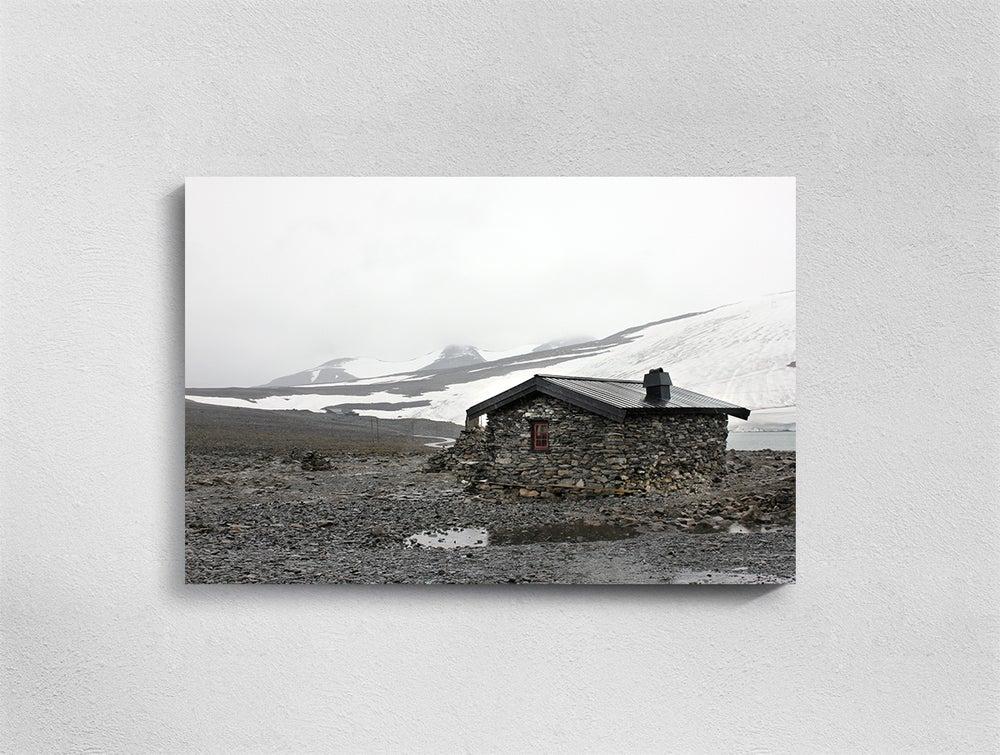 Image of Norway, Galdhøppigen, Print