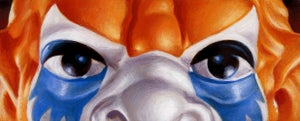 "Image of ""Beast Man"" - 9"" x 5"" limited edition giclee"