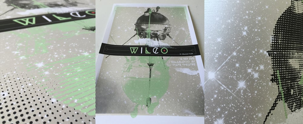 Image of Wilco - Satellite Poster