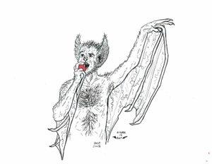 Image of DRAWLLOWEEN Day 14 Original: BAT