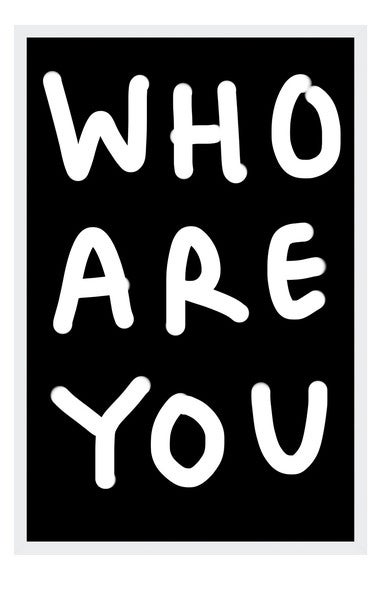 Image of WHO ARE YOU
