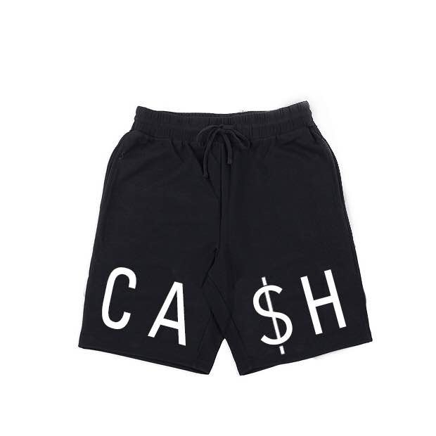 "Image of ""CA$H"" Shorts"