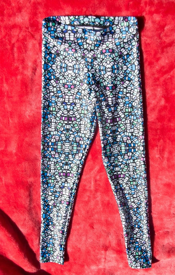 "Image of ""The Blues"" Leggings"