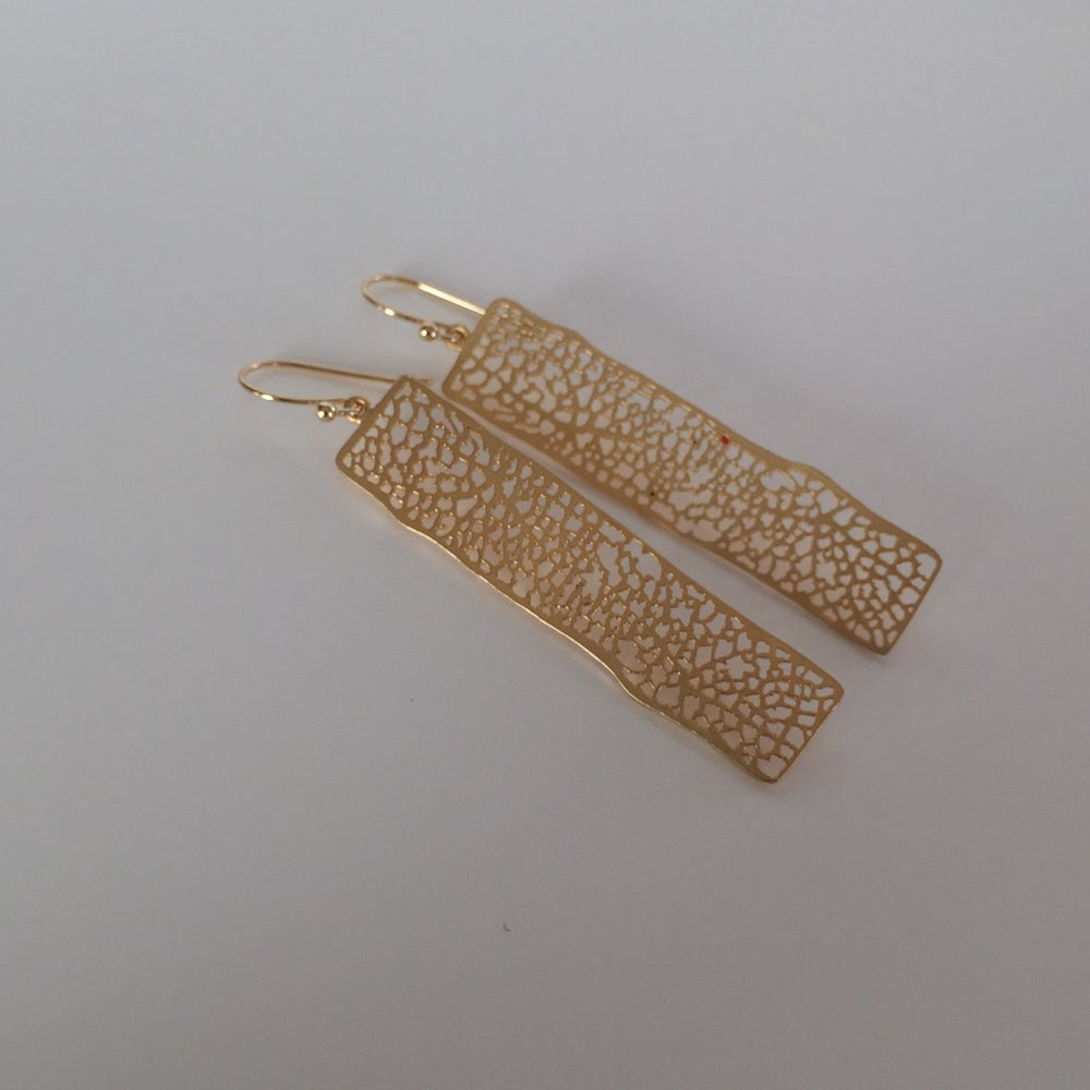 Image of Rectangle Earrings