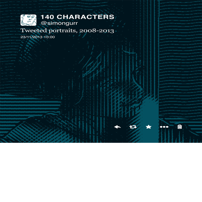 Image of 140 CHARACTERS signed, limited edition