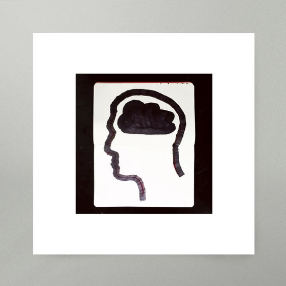 Image of By Hand : Brain Art Print