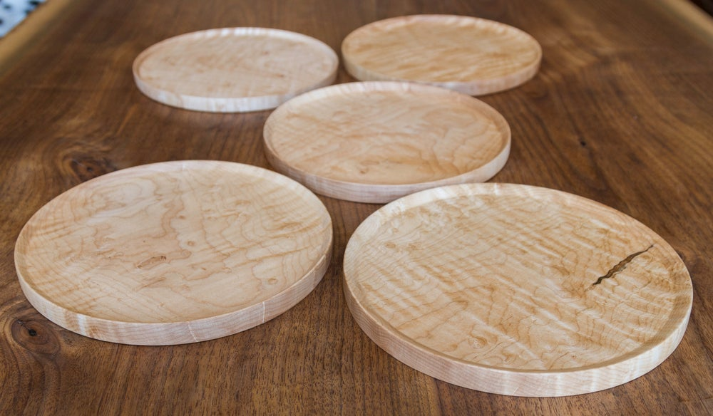 Image of Maple Plate Set