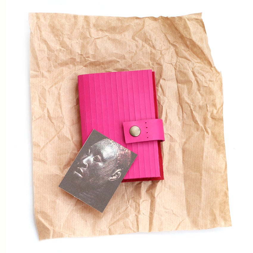 Image of Alagbede notebook - fuchsia