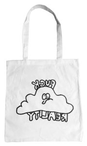 Image of Fuck Reality Bag - 01 - white