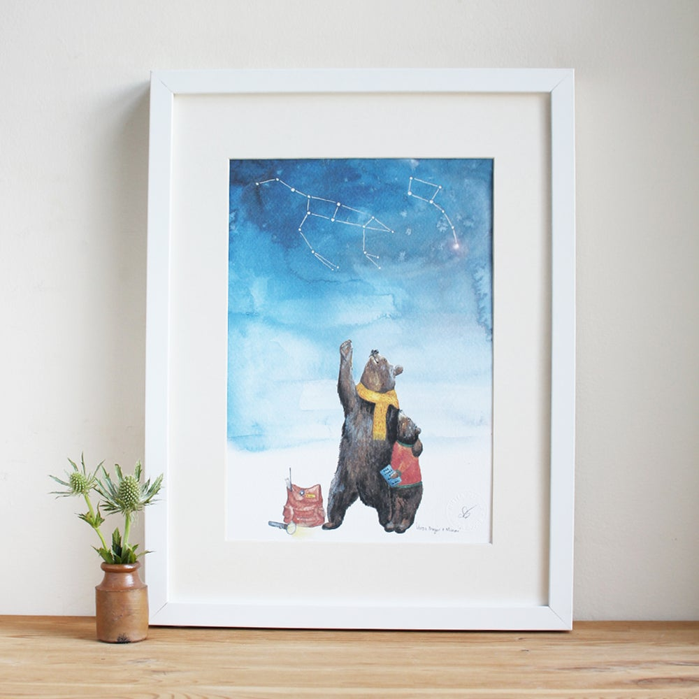 Image of Ursa Major Ursa Minor Art Print