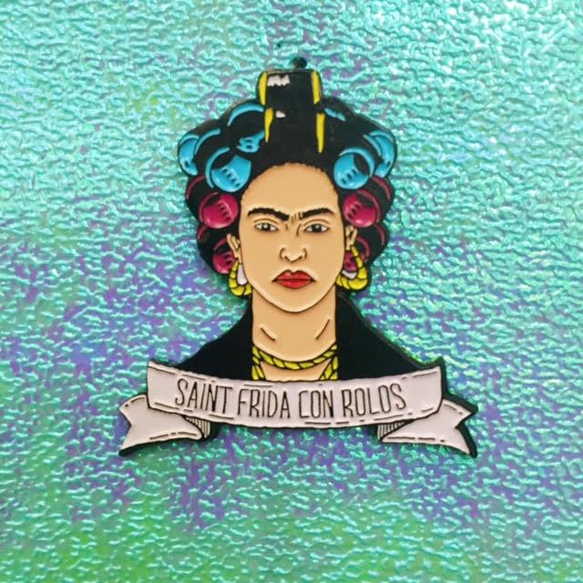 Image of Saint Frida Con Rollos