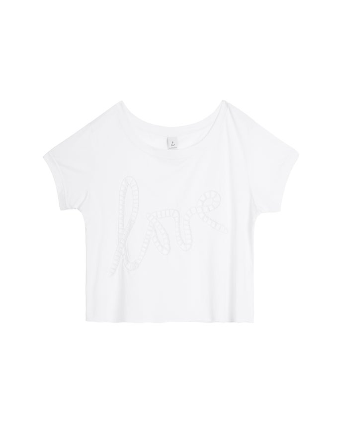 Image of LOVE TEE - WHITE