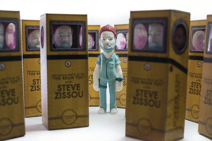 Image of Steve Zissou - adventure in resin