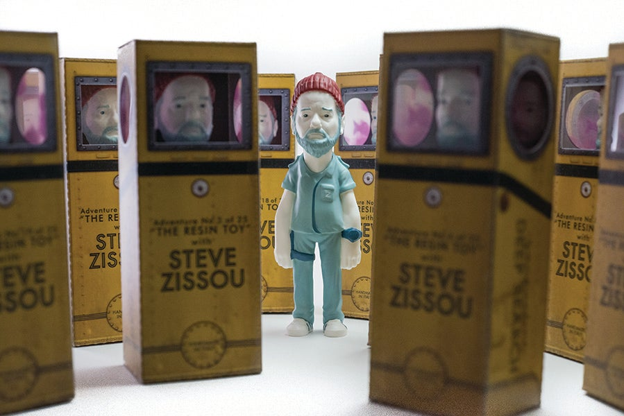 Image of Steve Zissou - adventure in resin