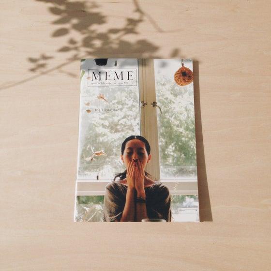 Image of MEME spirit & life magazine issue #1