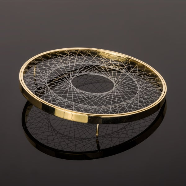 Image of Brooch / necklace 'Double Spirograph'