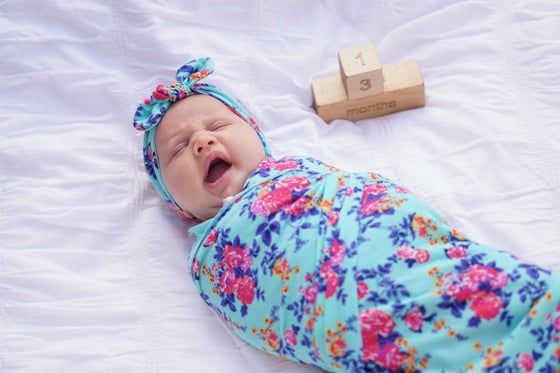 Image of Fuchsia Swaddle Blanket
