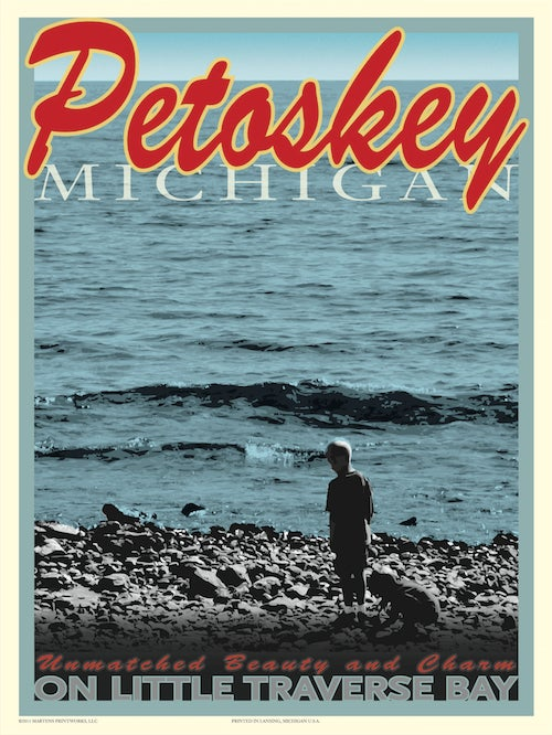 Image of Petoskey 18x24 Print No. [015]