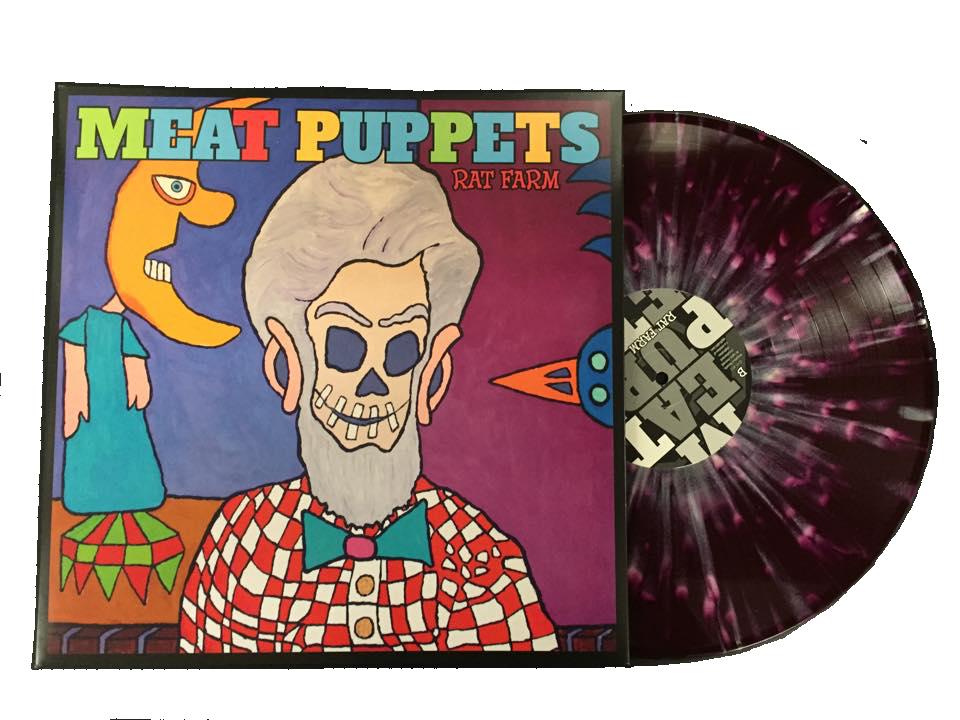 """Image of MEAT PUPPETS """"RAT FARM"""" LP (COLORED VINYL)"""