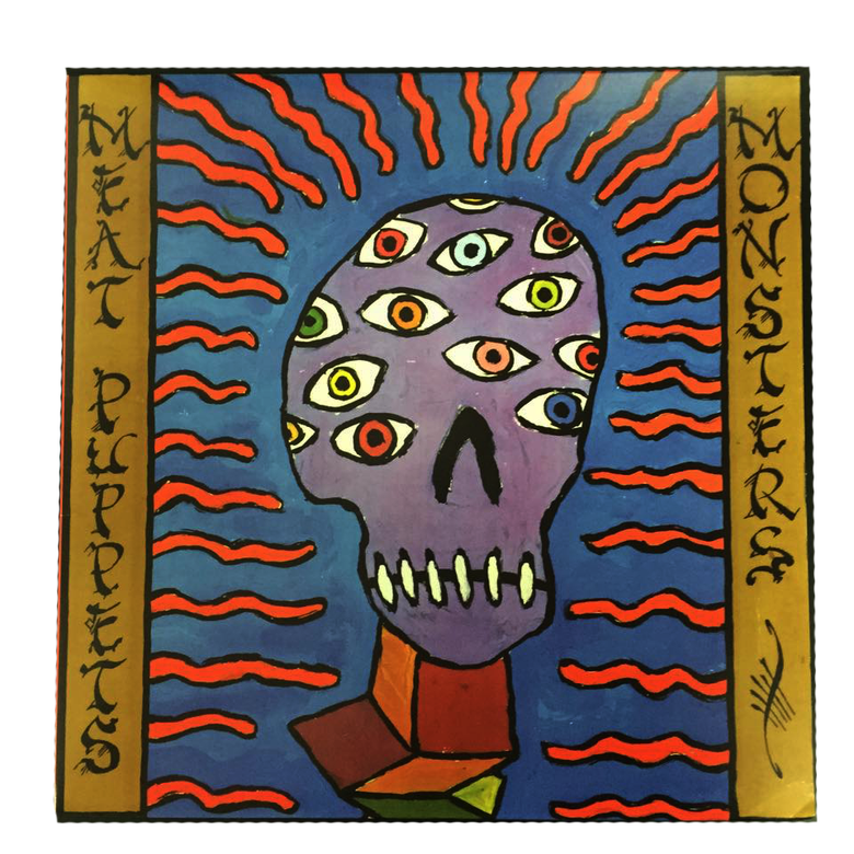 """Image of MEAT PUPPETS """"MONSTERS"""" LP"""