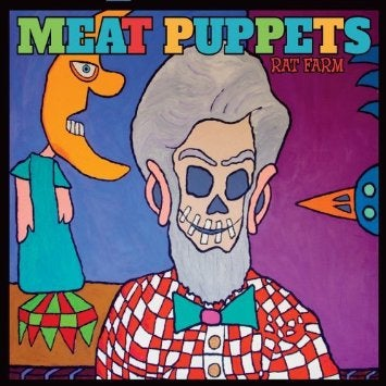 "Image of MEAT PUPPETS ""RAT FARM"" CD"
