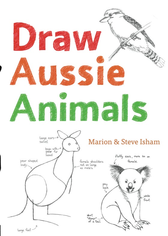 Image of Draw Aussie Animals.