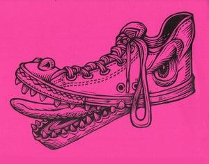 Image of Shoe Monster Print
