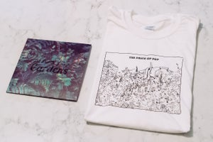 "Image of Gardens 7"" & T-Shirt"