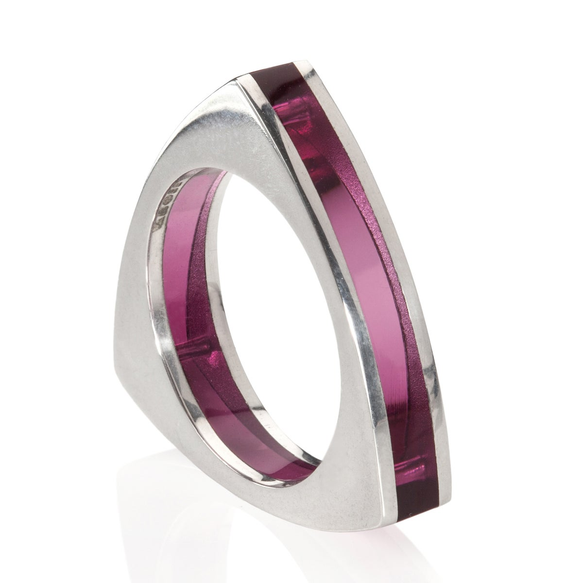Image of Ring 'Rivet' various colours
