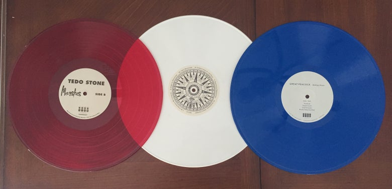 Image of TiAM Red, White & Blue Vinyl Package