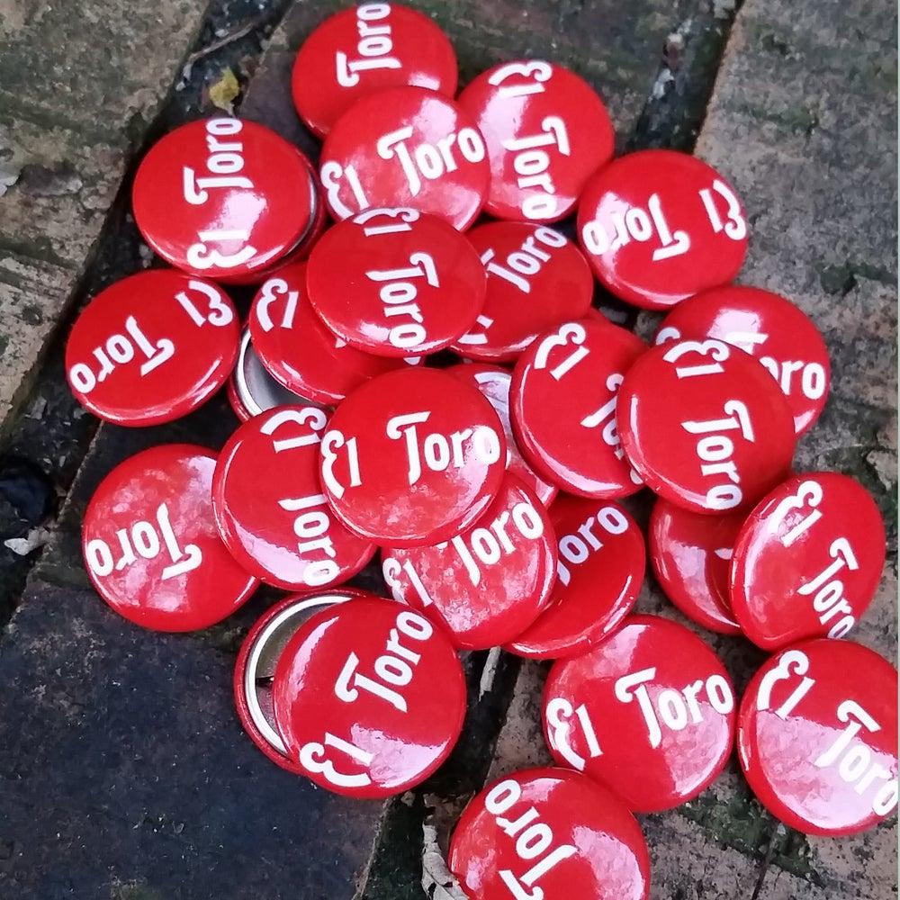 Image of El Toro Pinback Button