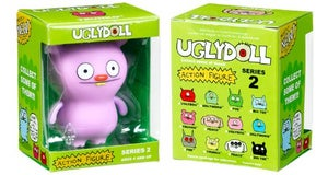 Image of UglyDoll Series 2 Poe Gray Action Figure