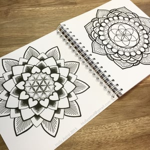 Image of Mostly Mandalas Colouring book