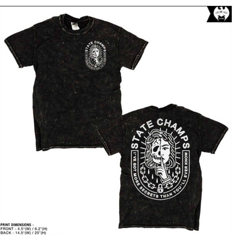 Image of STATE CHAMPS - SECRETS T-Shirt