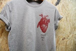 Image of Coeur de bandit By FCKRS® Gris Chiné