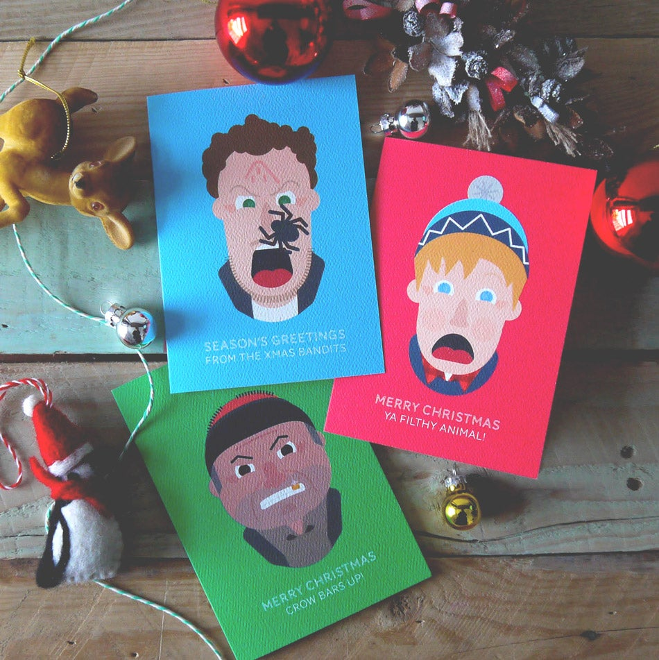 Image of Home Alone inspired Christmas card Limited Edition set