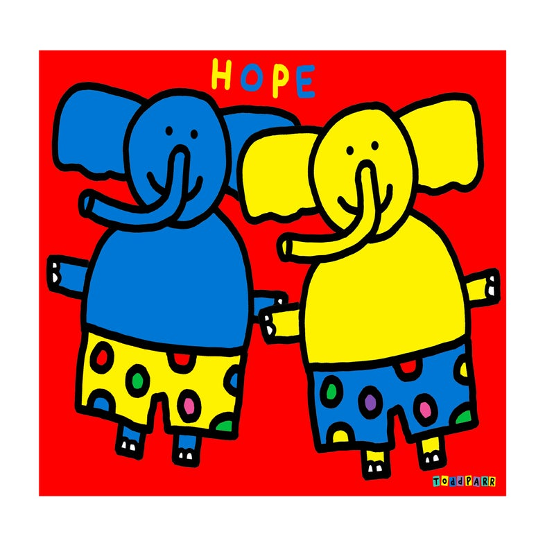 """Image of """"Hope"""" By Todd Parr"""