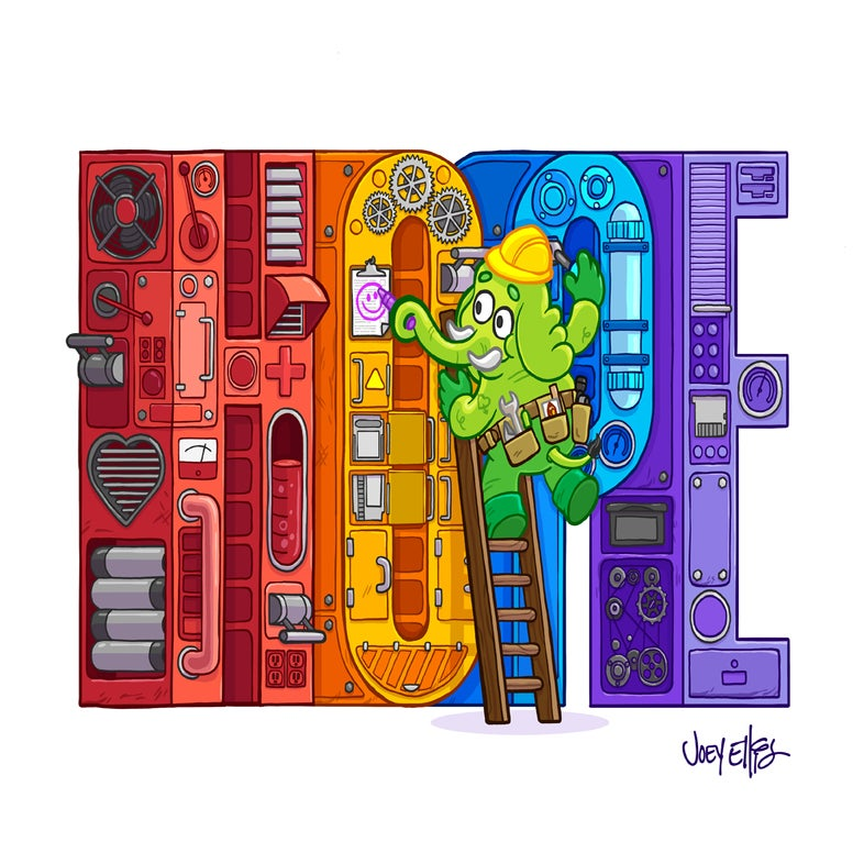 """Image of """"Hope-A-Matic 5000"""" By Joey Ellis"""