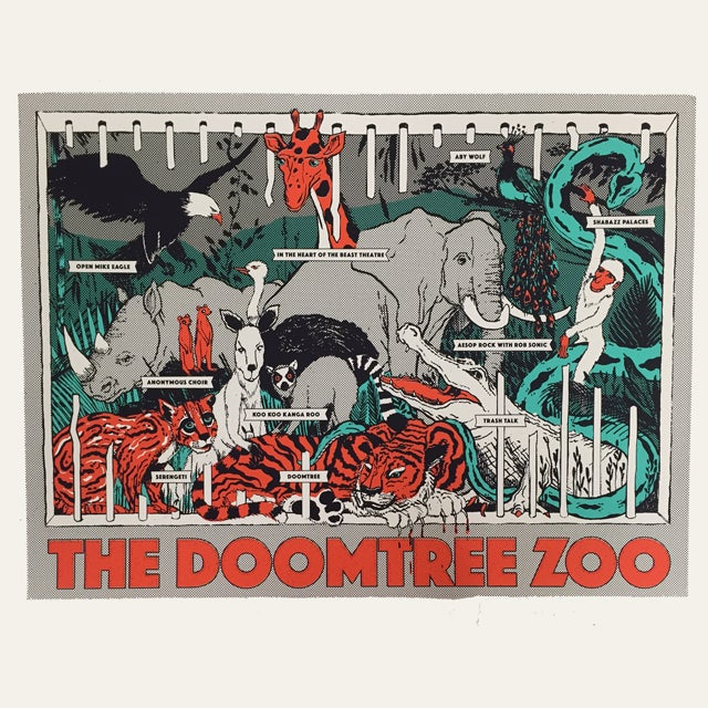 Image of Doomtree Zoo Poster
