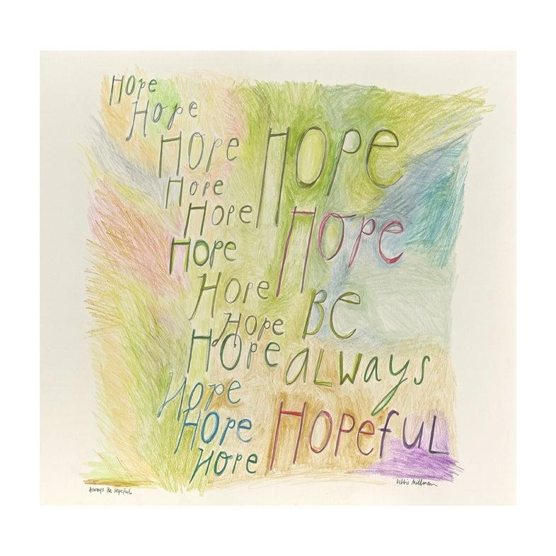 "Image of ""Hope"" By Debbie Millman"