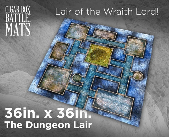 Image of The Dungeon Lair - 3'x3' - #290