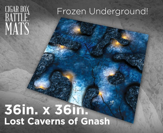 Image of Lost Caverns of Gnash - 3'x3' - #280
