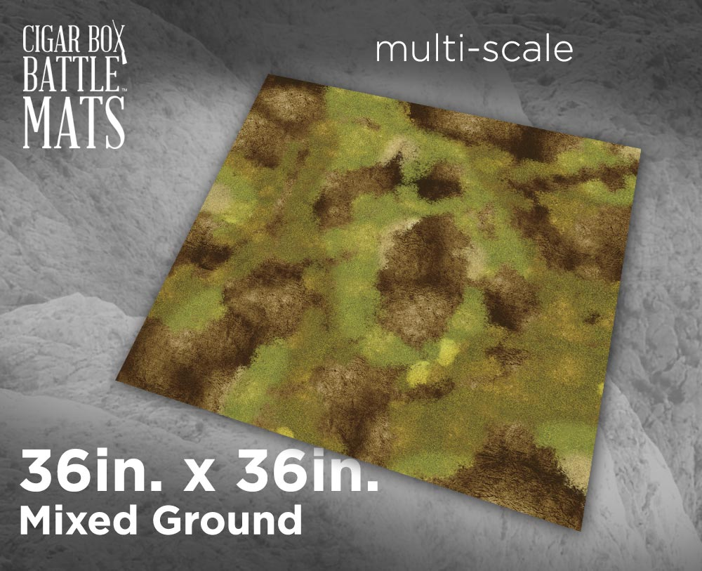 Image of Mixed Ground - 3'x3' - #241