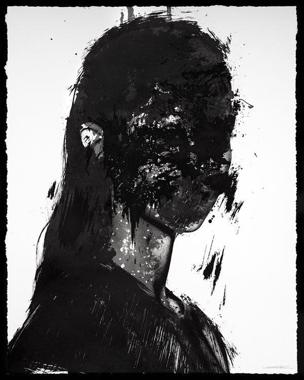 "Jesse Draxler - ""Untitled_002, 2015"" - 4 Color Screenprint - Edition of 33 - Misc. Press"