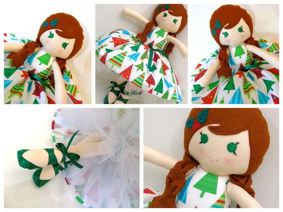 Image of Christmas Dolly No. 1 (Holly)