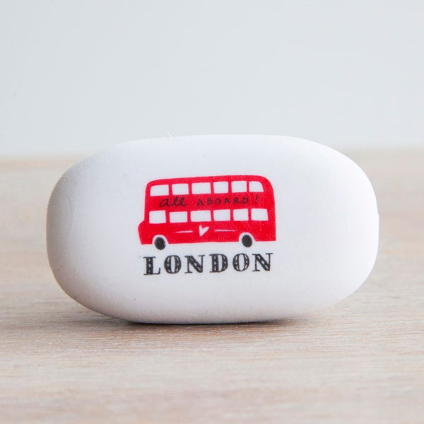 Alice Tait 'London Bus' Large Eraser - Alice Tait Shop