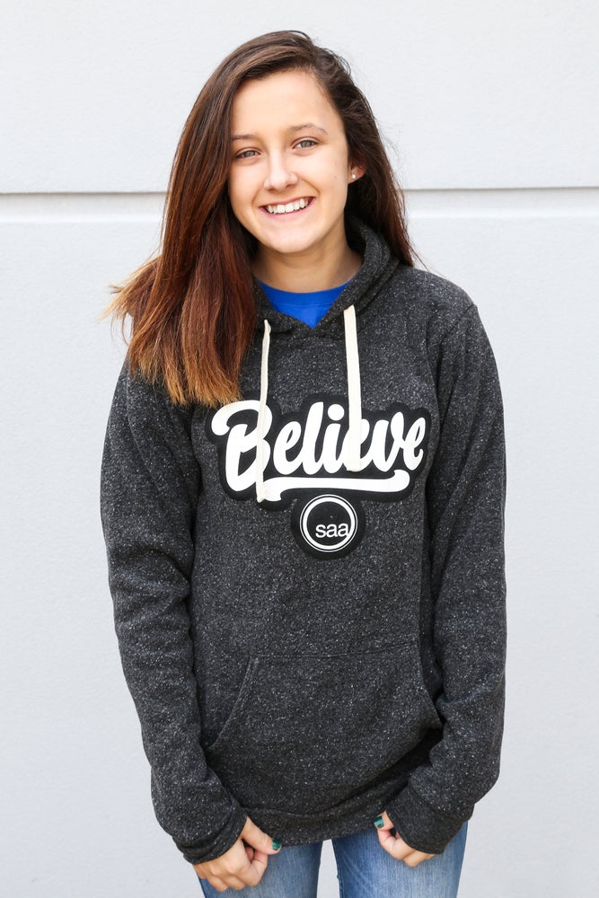 Image of SAA Believe Pullover - Onyx