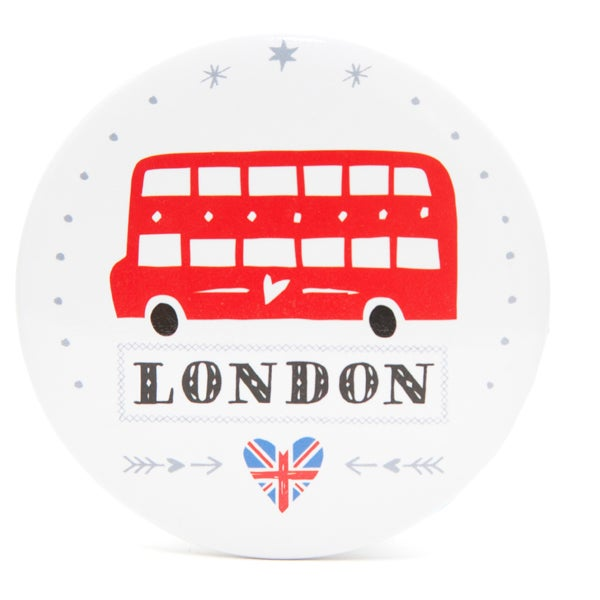 Alice Tait 'London Bus' Compact Mirror - Alice Tait Shop
